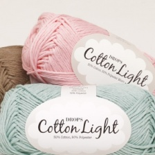 Cotton Light (50% хлопок, 50% полиэстер) 105м / 50г